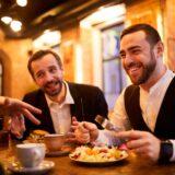 Comida de Negocios en Restaurante
